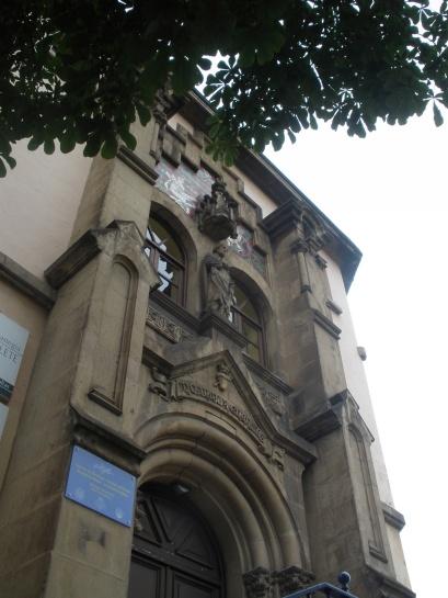 Pilgrim hostel/old church.
