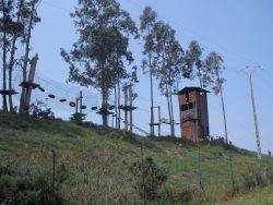 Obstacle course in Asturias.
