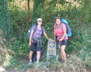On the Camino Primitivo.